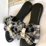 Buckle Bow Slippers
