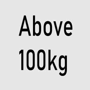 Above 100kg